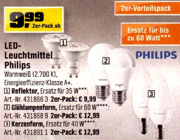 philips led lampen bei obi die watt losen spar zweierpacks fastvoice blog. Black Bedroom Furniture Sets. Home Design Ideas