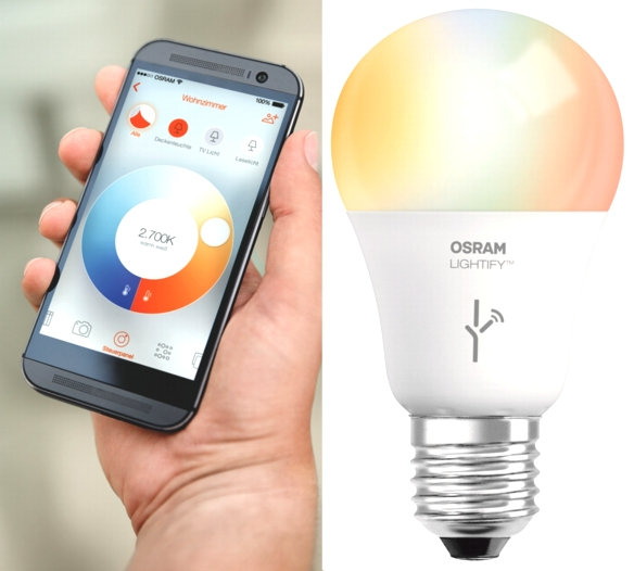 Osram-Lightify-App-Lampe