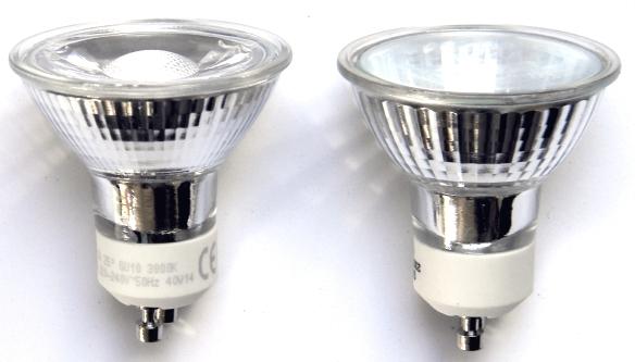 LightMe-GU10-4,5-Halo-Vergleich