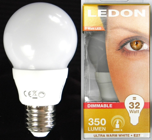 LEDON-7W-Candle-aus-Packung