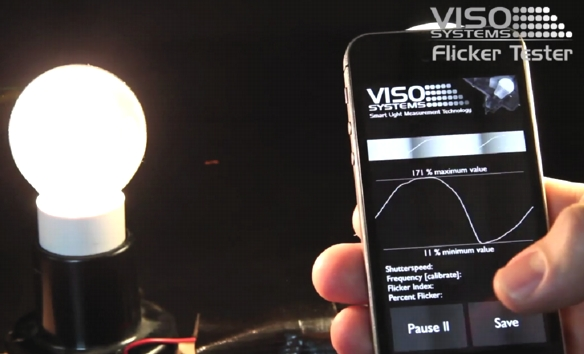 Viso-Flicker-Tester