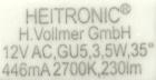 Heitronic-GU5.3-Sockeldruck