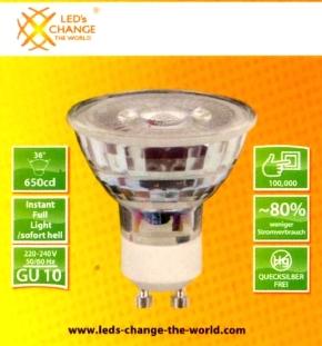 LCTW-GU10-Glas-Spot-Packung
