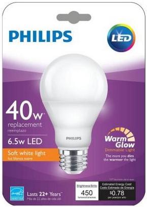 Philips-Warm-Glow-6,5W