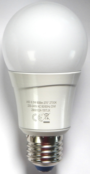 LEDON-E27-8,5W-aus