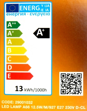 LEDON-E27-12,5W-Label