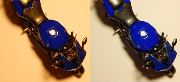 Sigalux-12W-ww-nw-Farbtreue-blau