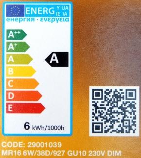 LEDON-GU10-6W-Label