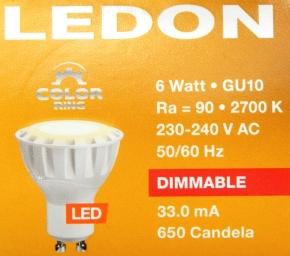 LEDON-GU10-6W-Pack-oben