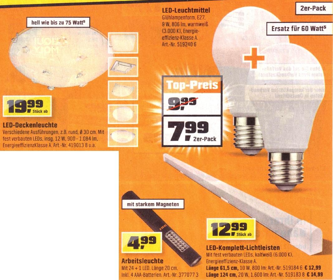 aktuelle obi led deals viele lumen und fehlende daten f r. Black Bedroom Furniture Sets. Home Design Ideas