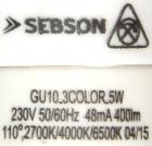 Sebson-GU10-3C-Aufdruck
