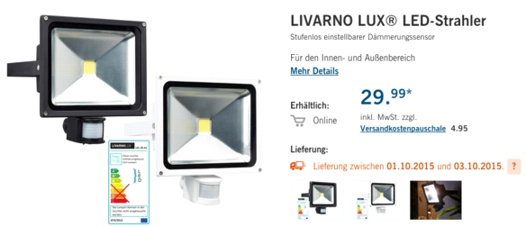 livarno lux led woche bei lidl ein paar schn ppchen. Black Bedroom Furniture Sets. Home Design Ideas