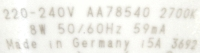 Osram-E27-8W-A60-Detail