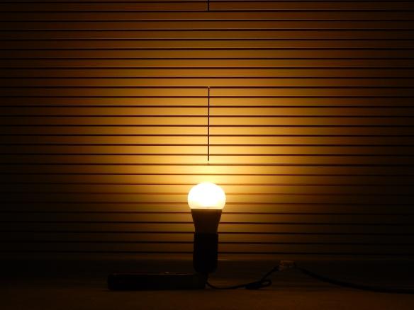 Osram-E27-8W-A60-Leuchtbild