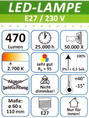 MeLiTec-E27-L89-3-Daten