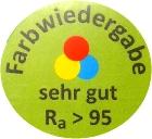MeLiTec-Farbwiedergabe-Ra95-Label