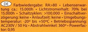 Arteko-E27-12W-Daten