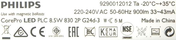 Philips-PL-C-8,5W-Lampe-Daten