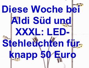 Teaser-LED-Stehleuchten