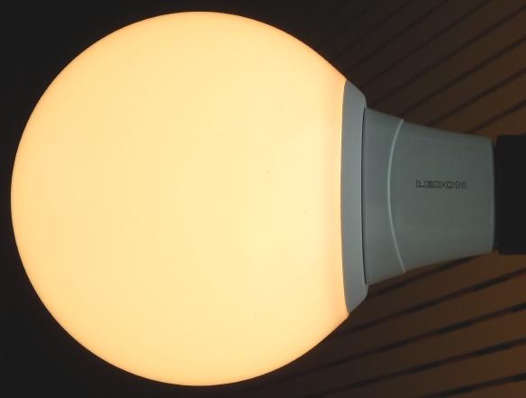 Im Test: Dimmbare Globe-LED-Lampe von LEDON - heller als versprochen ...