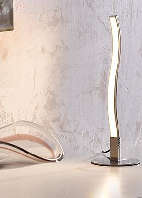 Bauhaus-Wave-LED-Tischleuchte