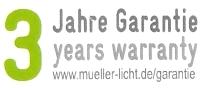 mueller-licht-hd95-garantie