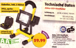 led sommerfest bei aldi s d 13 lampen drei. Black Bedroom Furniture Sets. Home Design Ideas